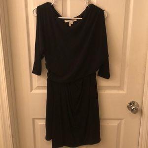 Mid sleeve mini dress